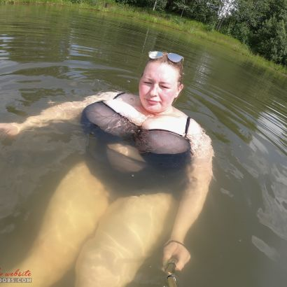 Late summer swim